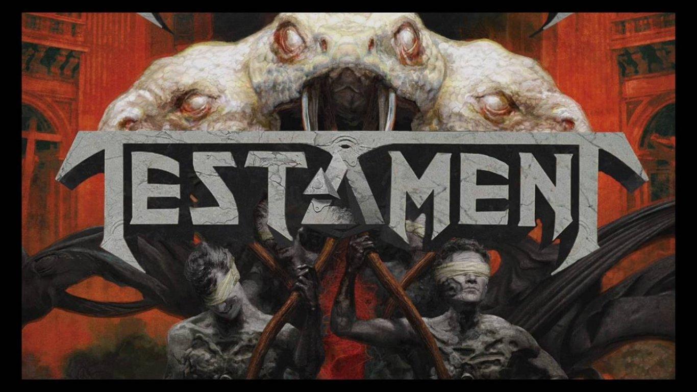 No.1 'The Brotherhood of the Snake' de Testament (Nuclear Blast)
