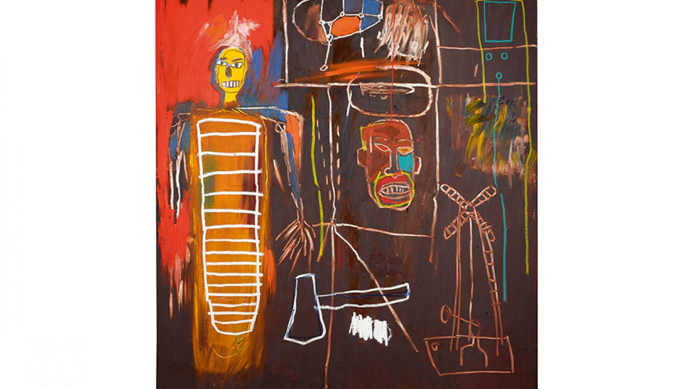 """Air Power"" de Jean-Michel Basquiat. 2,5 - 3,5 millones de libras"