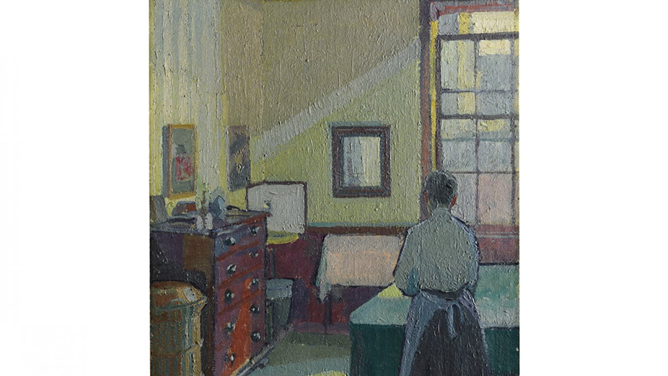 """Interior (Mrs Mounter)"" de Harold Gilman. £150.000 - 250.000"