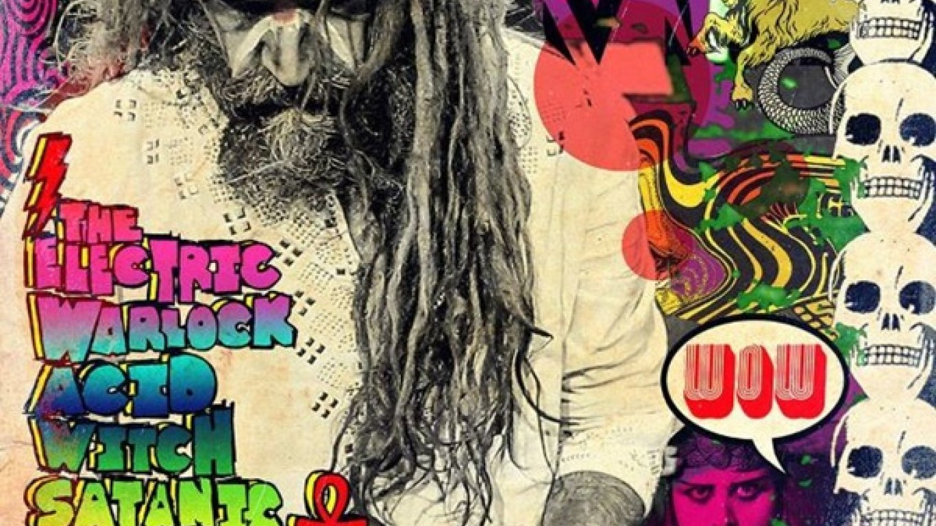 No. 24 'The Electric Warlock Acid Witch Satanic Orgy Celebration Dispenser' de Rob Zombie (Zodiac)