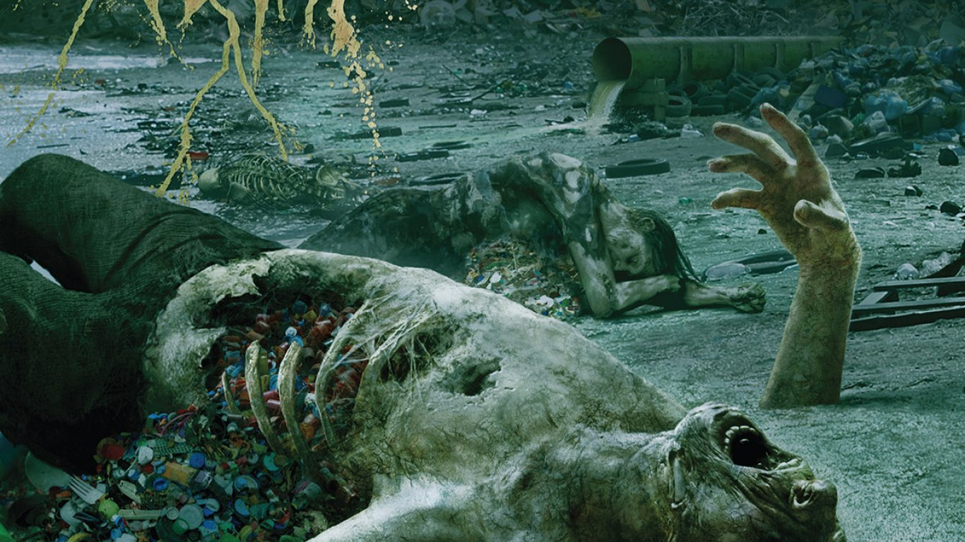 "No. 34 ""The Anthropocene Extinction"" de Cattle Decapitation. Sello: Metal Blade"