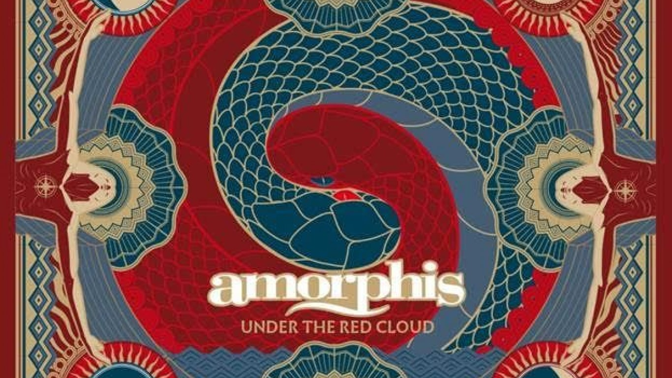 "No. 47 ""Under The Red Cloud"" de Amorphis. Sello: Nuclear Blast"