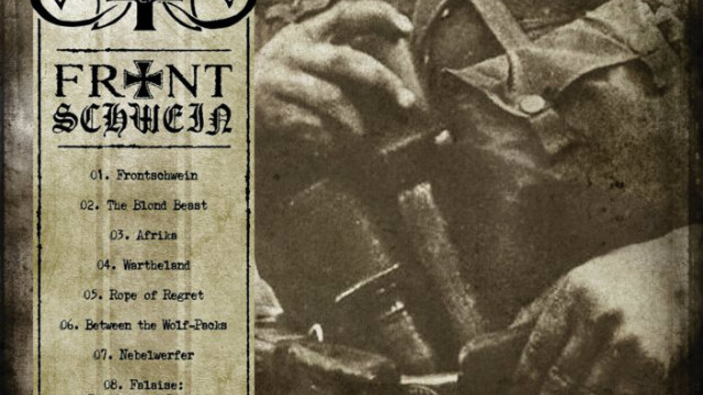 "No. 48 ""Frontschwein"" de Marduk. Sello: Century Media"