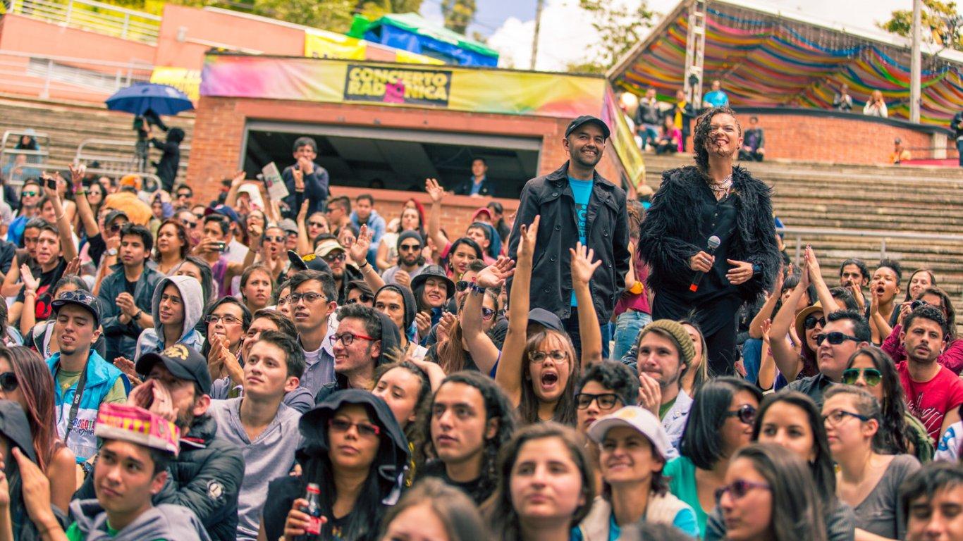 Tres ciudades enn simultanea vivieron el Concierto Radiónica 2014: Cali, Medellín y Bogotá