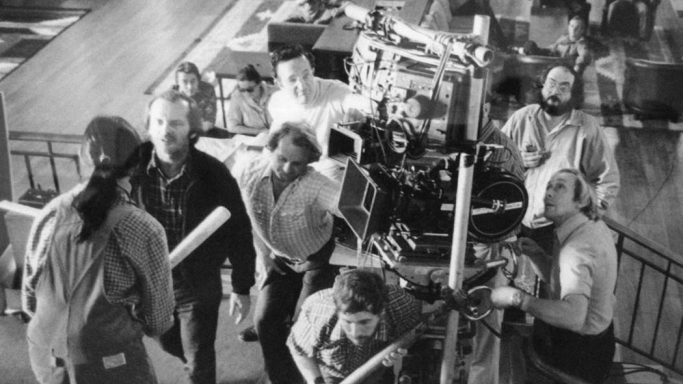 """Jack Nicholson y Shelley Duvall en """"El Resplandor"""""""