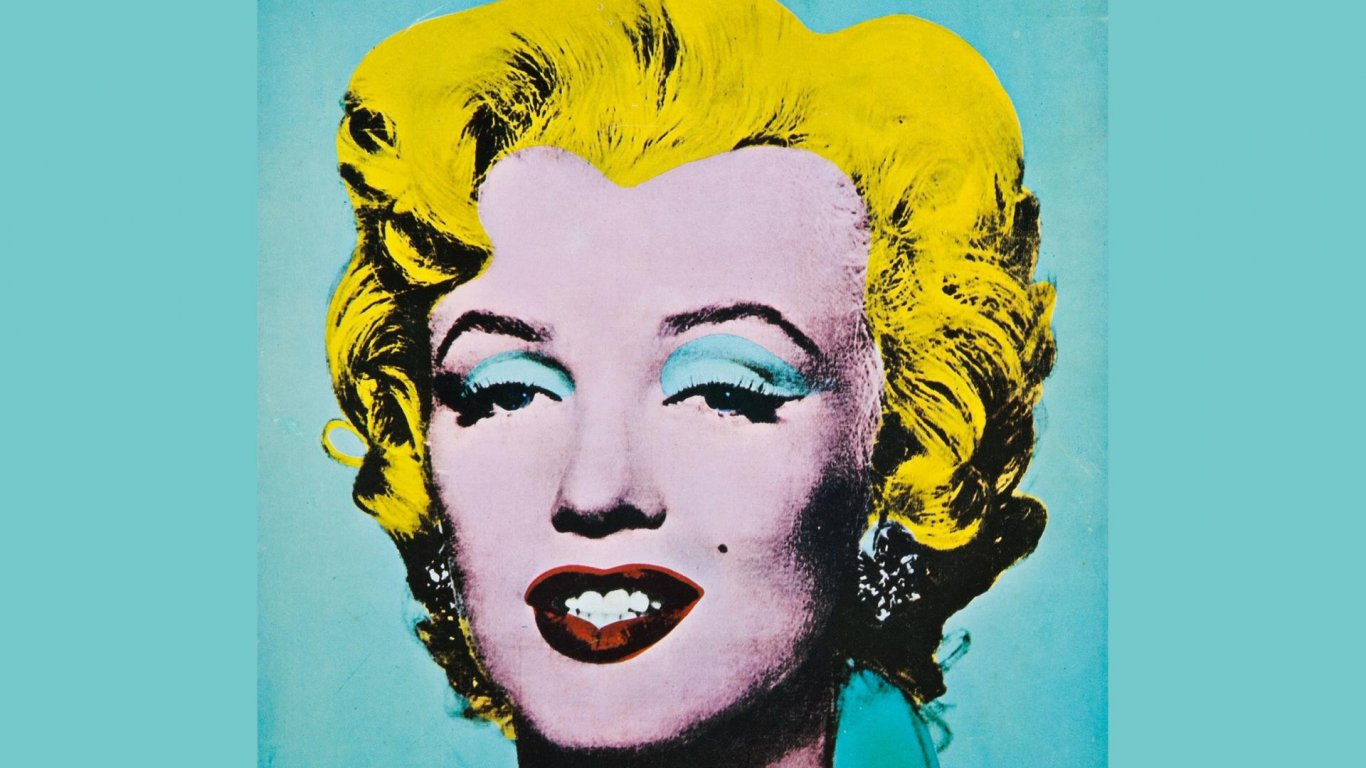 Marilyn Monroe fue inmortalizada en una de las obras más conocidas de Andy Warhol en la exhibición The American Supermarket celebrada en 1964 en la galería Paul Bianchinni, en el Upper East Side de Manhattan.