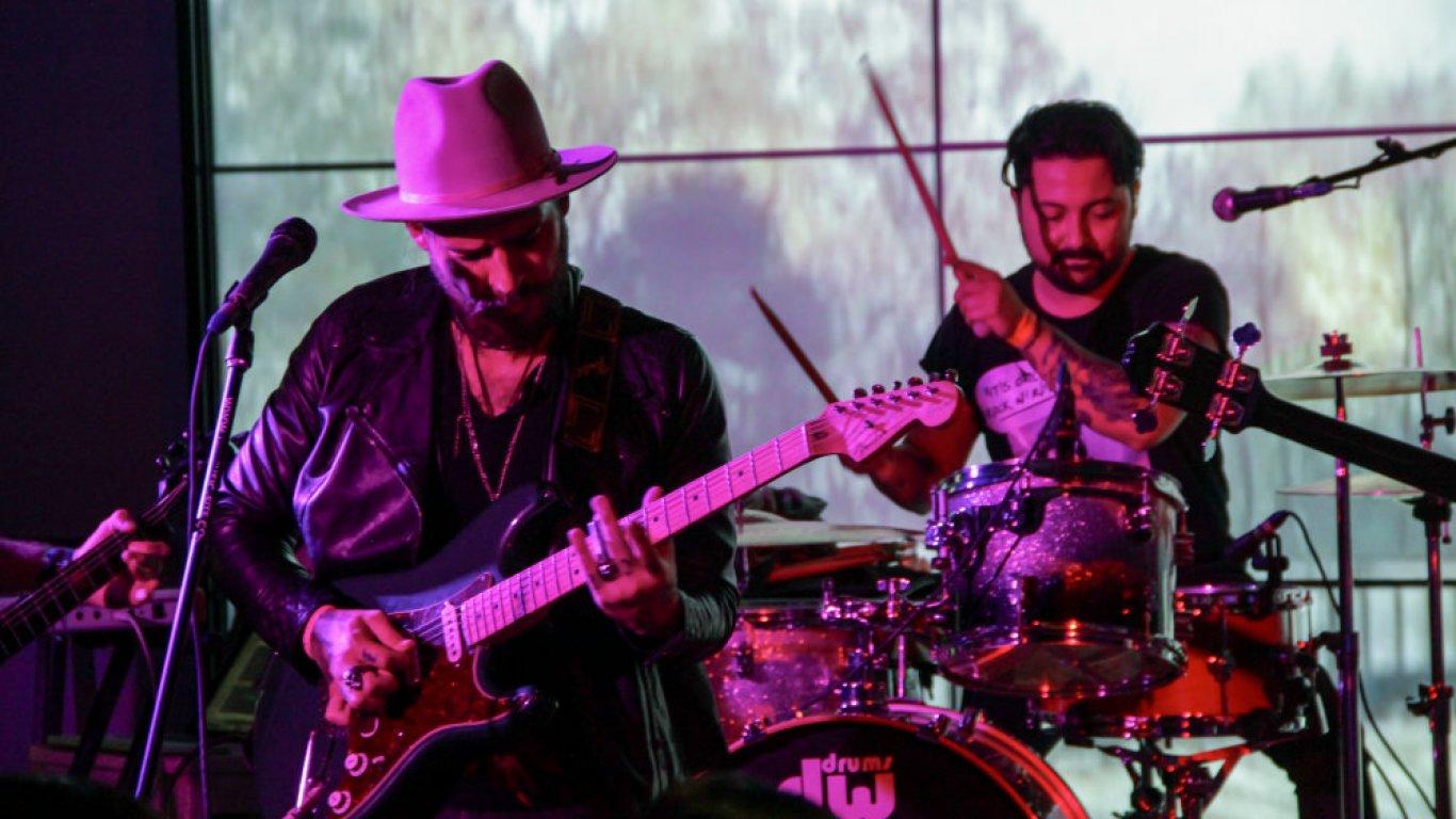 La Luz de San Telmo iluminó el lanzamiento oficial del Festival Rock And Shout