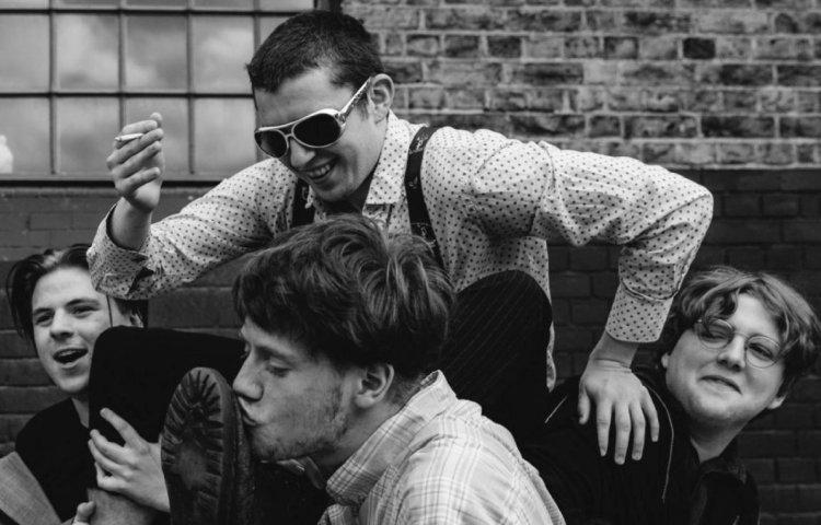 Shame, banda británica. Foto de Jenna Foxton para www.loudandquiet.com