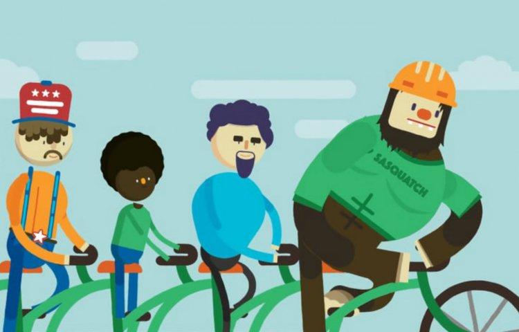 Aprender en bici
