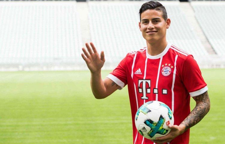 La Bundesliga recibe a James Rodríguez