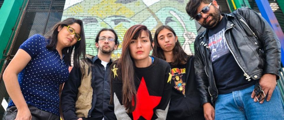 Cuervo Rojo. Foto cortesía de la banda.