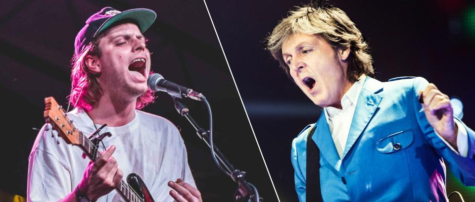 Mac DeMarco y Paul McCartney.