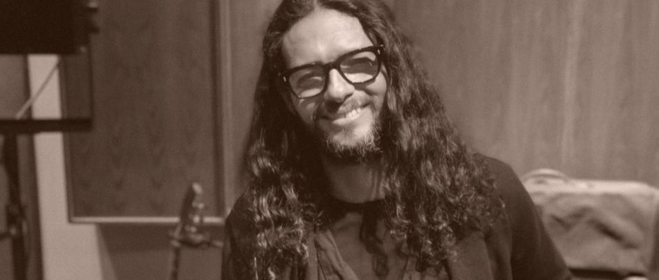 Robi Draco Rosa en Bogotá, en la presentación a la prensa de 'Monte Sagrado'