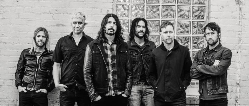Foo Fighters estará en Colombia el 31 de octubre de 2019. Foto de Brantley Gutierrez.