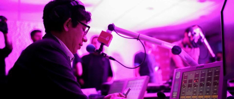 Gonzalo Rodríguez, realizador de la Franja Electrónica Radiónica
