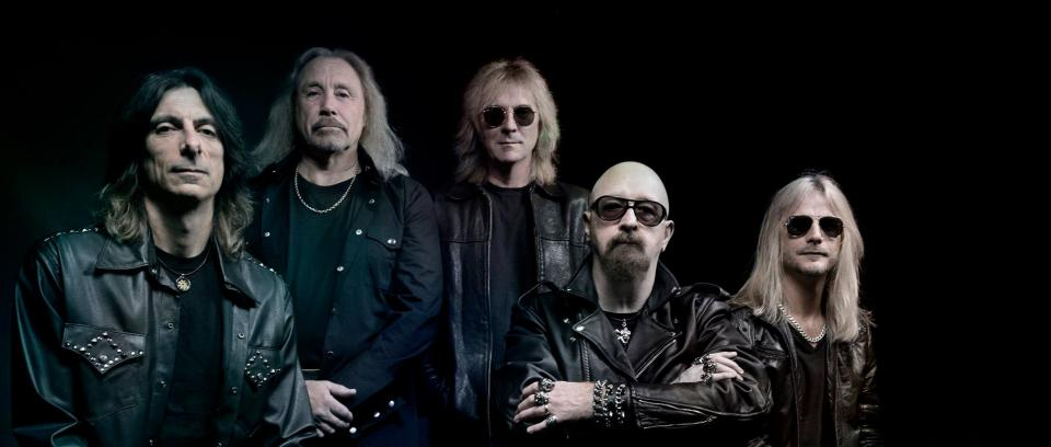 Judas Priest. Foto tomada del Facebook de la banda.