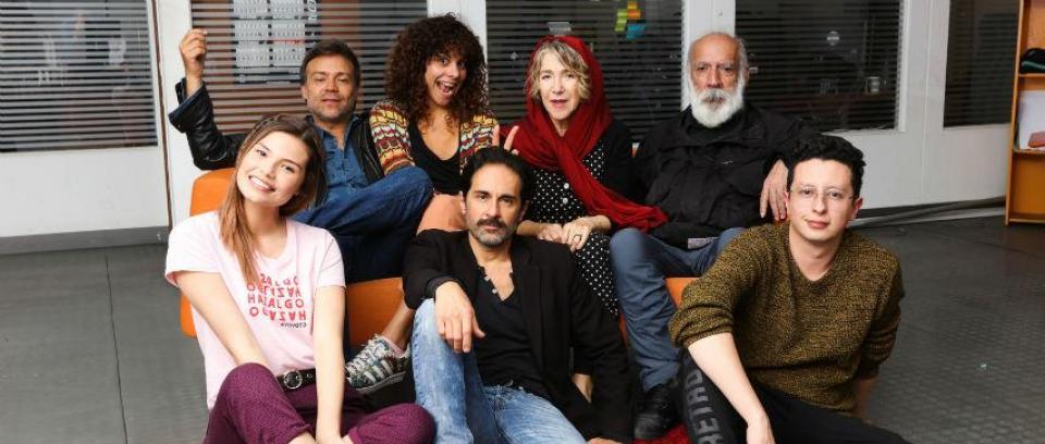 Reparto de 'La De Troya'. Foto RTVC.