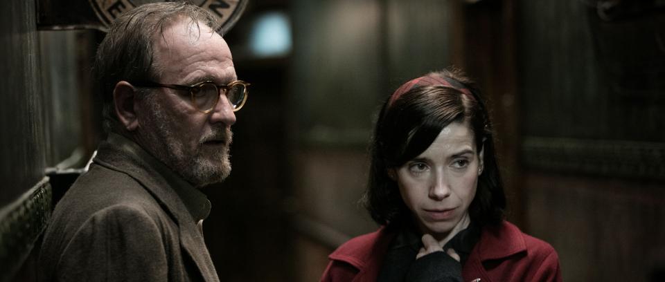Richard Jenkins y Sally Hawkins, parte del reparto de 'La forma del agua'.