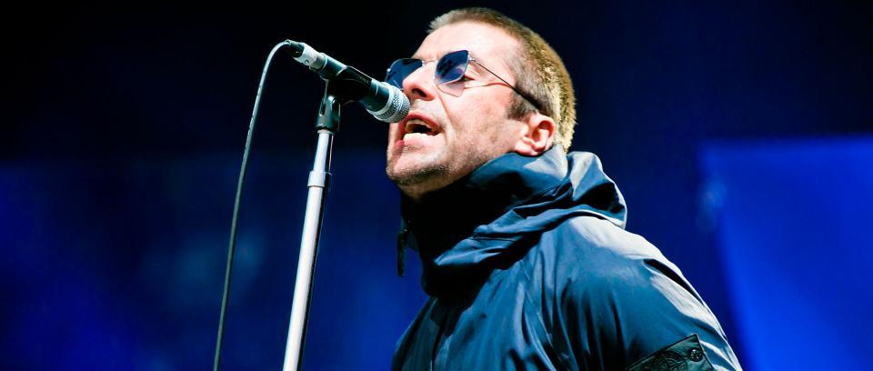 Liam Gallagher. Foto de Matías Altbach