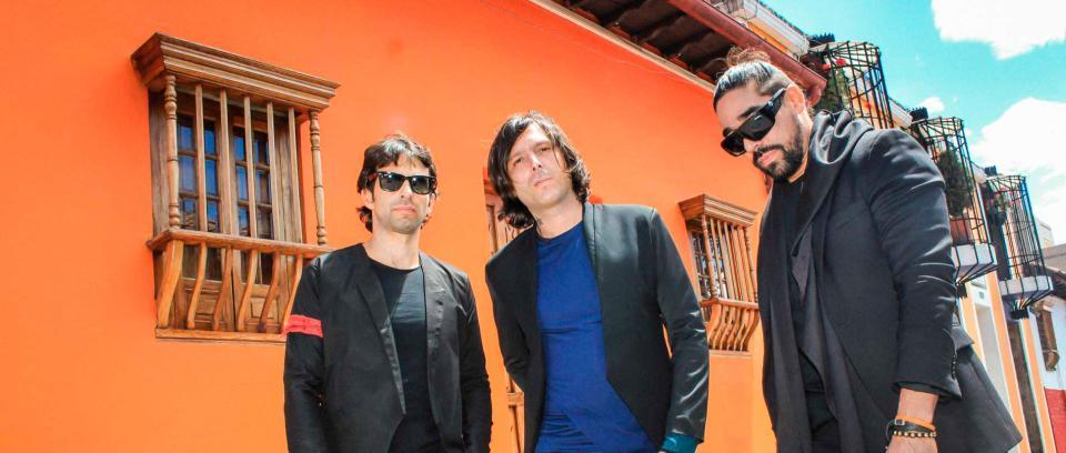 Los de Adentro, banda colombiana. Foto tomada de Mi Gente TV.