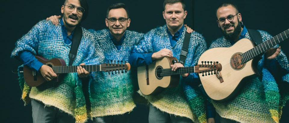 Los  Rolling Ruanas. Foto tomada del Facebook de la banda.