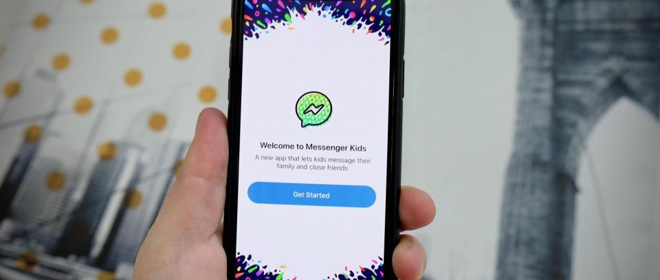 Messenger Kids está pensado para que los niños puedan estar en contacto con amigos y familiares.