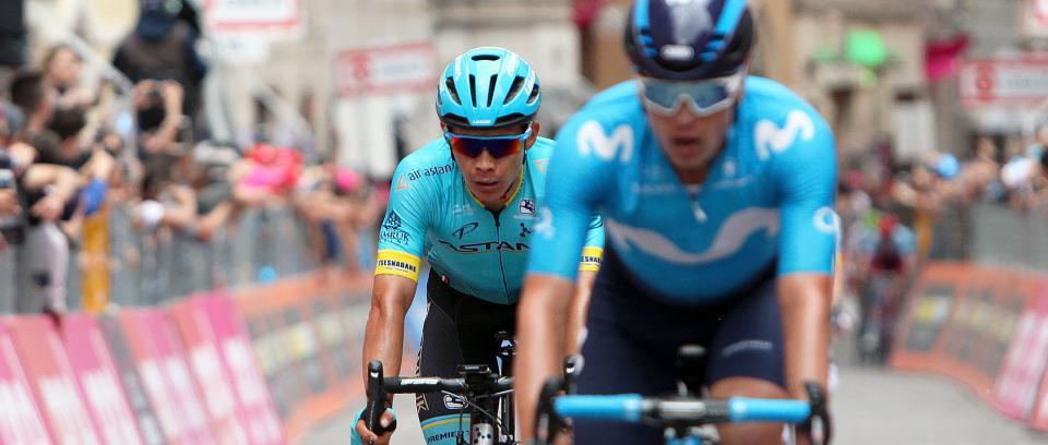 Miguel Ángel 'Superman' López, ciclista colombiano. Foto: Colprensa.
