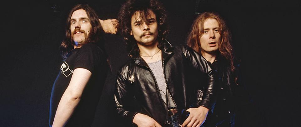 Lemmy Kilmister, Phil Taylor y Eddie Clarke. Foto tomada del Erkan's Field Diary.