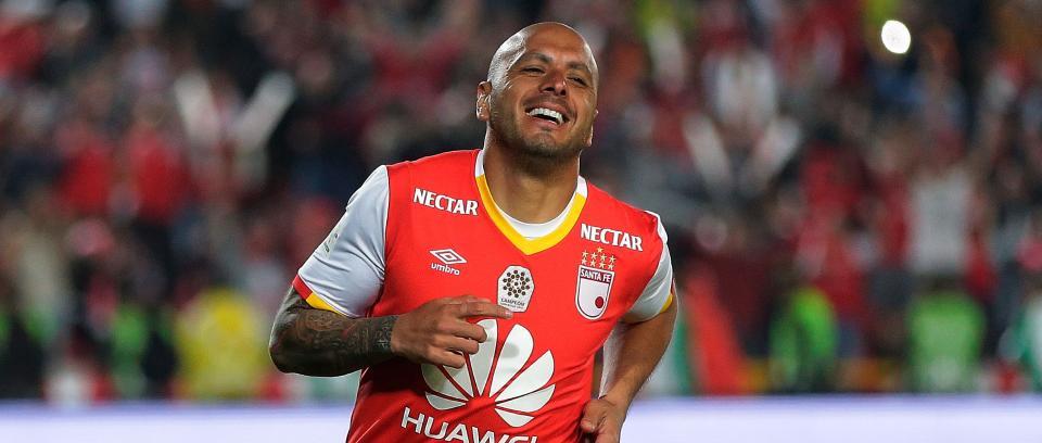 Omar Pérez, exjugador de Santa Fe. Foto de Colprensa.