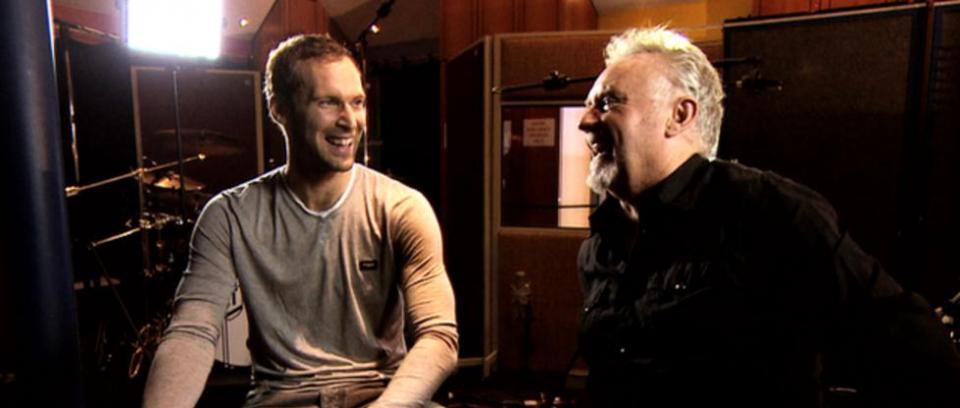 Petr Cech y Roger Taylor. Imagen tomada de www.bbc.co.uk