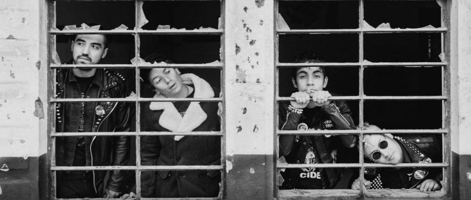 Primer Regimen, banda de punk colombiana. Foto tomada de su página de Facebook.