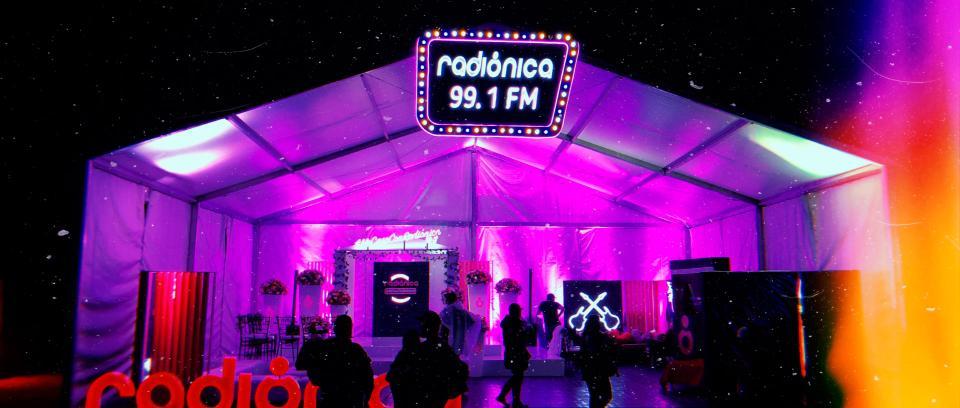 Radiónica en el Festival Estéreo Picnic 2019.