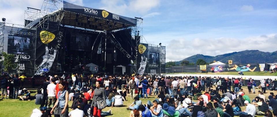 Rock al Parque 2014. Foto tomada de Orbitarock.