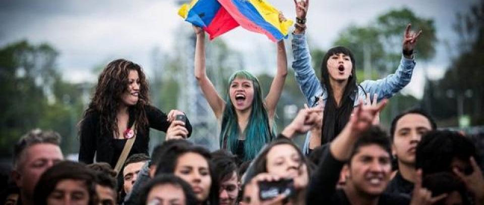 Rock al Parque 2015. Foto tomada de la página de la Alcaldía de Bogotá.