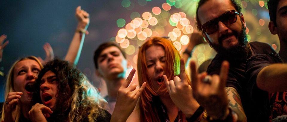Rockeros. Foto: REUTERS.