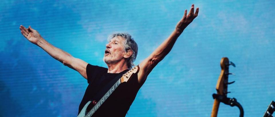 Roger Waters. Foto tomada de Facebook