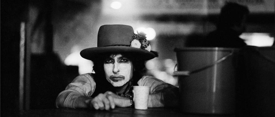 Foto: Rolling Thunder Tour por Ken Regan tomada de Rolling Stone