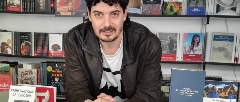 Santiago Tobón, foto tomada de Zenda Libros.