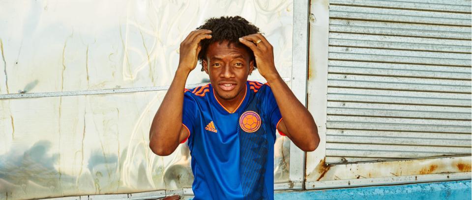 Juan Guillermo Cuadrado, jugador de la Selección Colombia de fútbol. Foto: Colprensa.