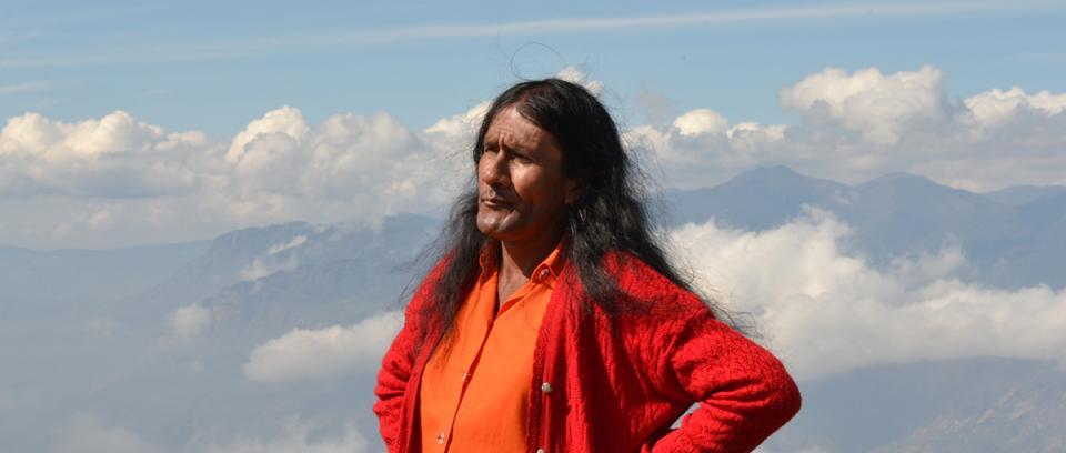 Señorita María Luisa, protagonista del documental. Foto de Proimágenes Colombia.