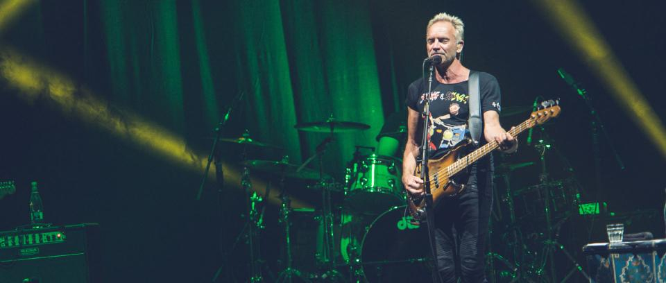 Sting en Bogotá. Todas las fotos de Andrés Alvarado / Páramo Presenta