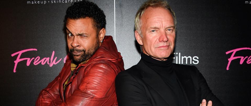 Shaggy y Sting. Foto tomada de http://morningnews.date