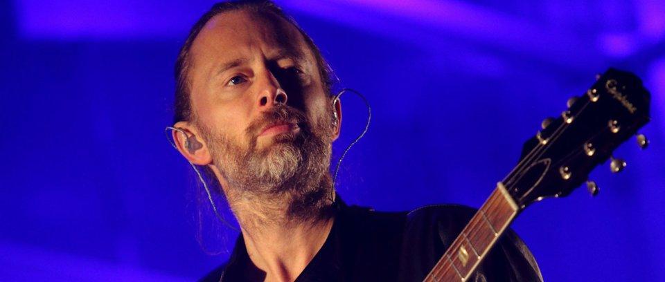 Thom Yorke. Foto por John Davisson.