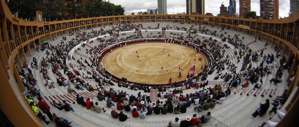 Plaza de Toros La Santamaría, Bogotá. Foto tomada de rcnradio.com