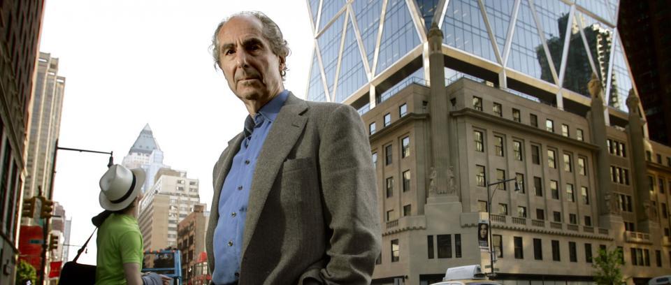 Philip Roth. Fuente AFP.