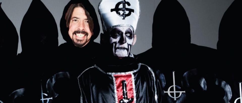 Ghost B.C y Dave Grohl unen fuerzas en nuevo EP