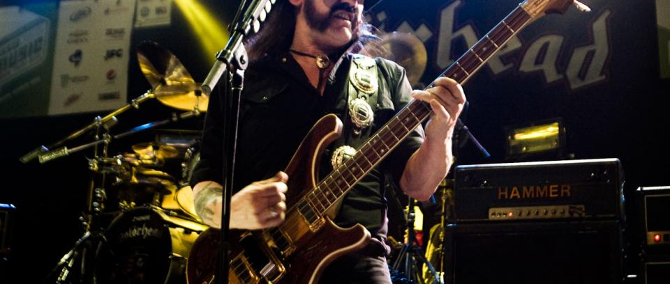 Motörhead publicará uno de los últimos conciertos de Lemmy