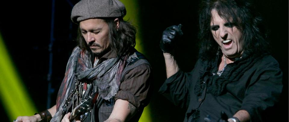 Johnny Depp, Alice Cooper y Joe Perry despedirán a Lemmy Kilmister