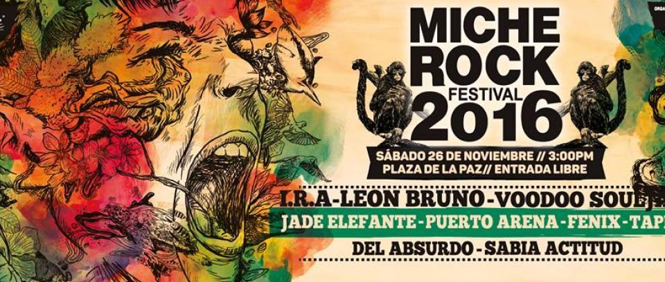 Se siente noviembre, se siente el Miche Rock Fest en Barranquilla