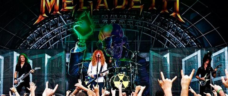 Megadeth estrena track de
